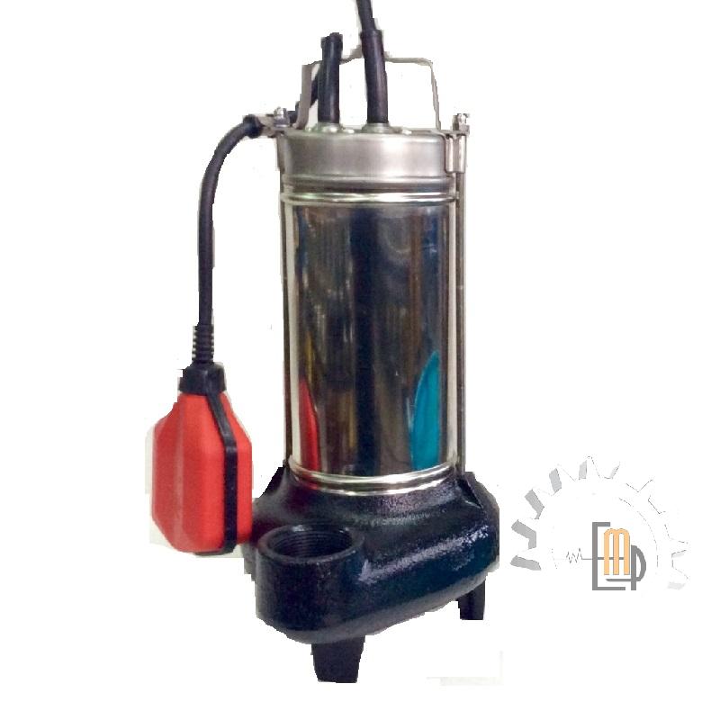 Elettropompa sommersa 1 hp per acque sporche Pompa monofase sommergibile 230 V