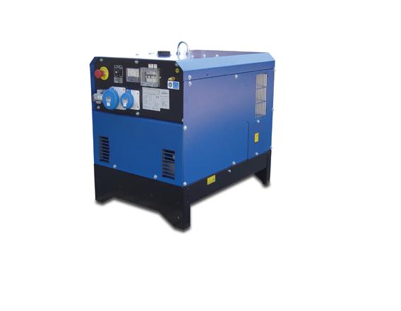 Generatori Diesel da 4 a 15KVA, Silenziati con avviamento elettrico