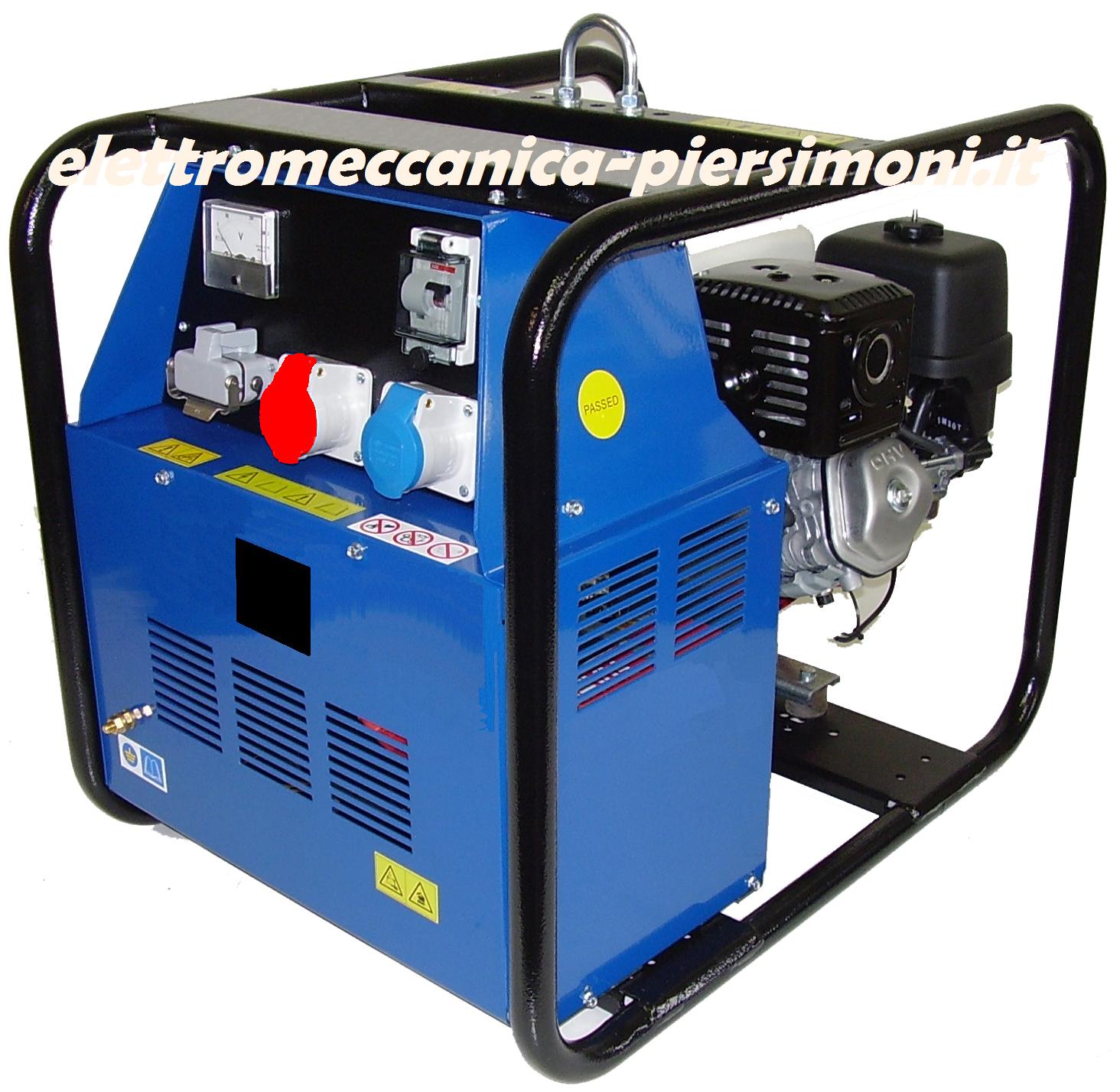 Generatori Diesel da 4 a 10KVA telaio aperto