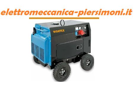 Generatore di corrente hw 5000 e trifase 4 5kw diesel for Generatore di corrente wortex